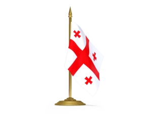 georgia_flag_with_flagpole_640